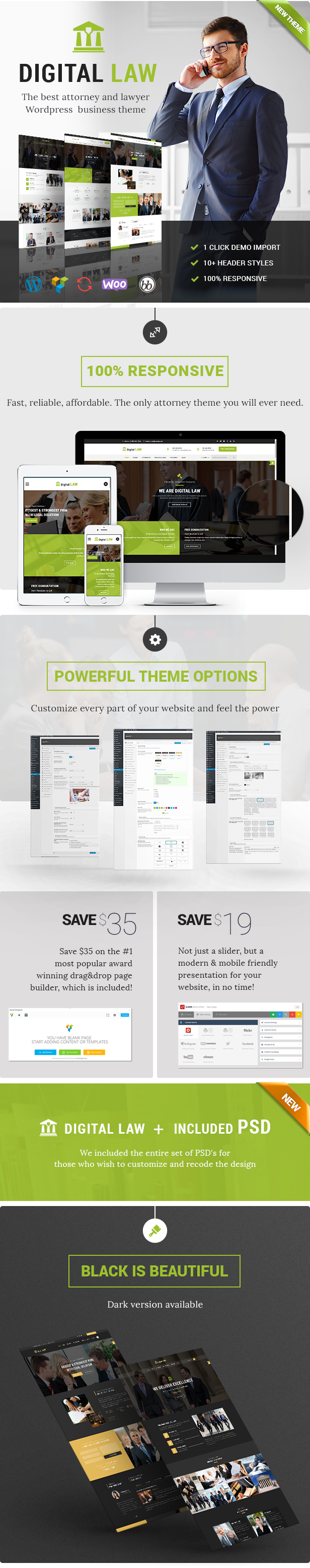 Digital Law WordPress Theme